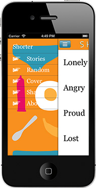 Shorter - short stories by Will Ashon - iPhone version