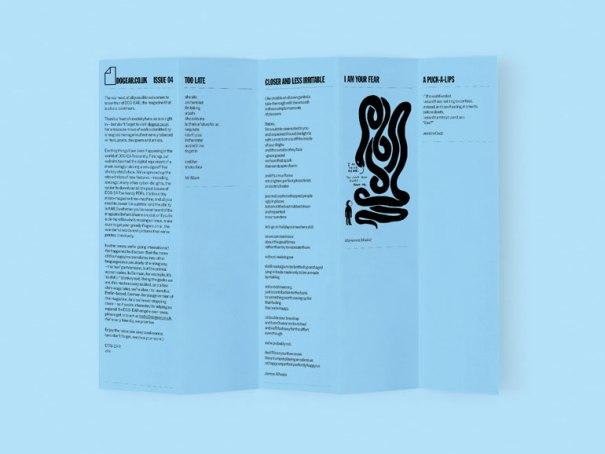 Issue 4 of Dog Ear. A magazine. No. A bookmark. no. A magazine...