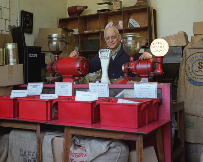 George of The Camden Coffee Shop by Julian Baker
